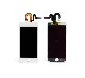 Apple iPod Touch 5.gen digitizér s LCD bílý kompozitní servisní díl