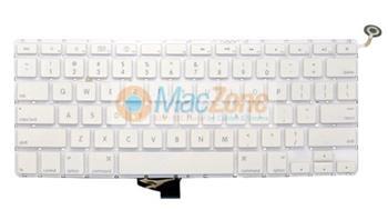 """Apple klávesnice Apple MacBook Pro 13"""" 2009 unibody white A1342 US layout"""