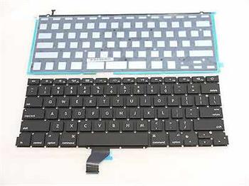 """Klávesnice pro Apple MacBook Pro Retina 13"""" A1502, UK rozložení kláves, zahnutý enter"""