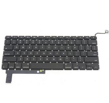 """Klávesnice pro Apple MacBook Pro 15"""" unibody (2009-2011) A1286 , UK rozložení kláves ,zahnutý enter bez podsvícení"""