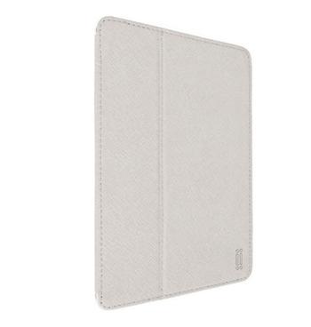 Aiino iPad Mini Graphite - obal pro iPad Mini / Mini Retina s držákem na pero bílý - otevřené balení