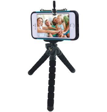 Rollei Selfie Mini Tripod flexibilní stativ trojnožka s držákem pro iPhone a jiné smarphony
