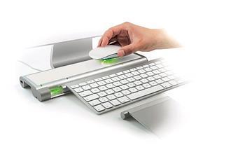 Mobee Magic Feet Charger - bezdrátová indukční nabíječka pro Apple klávesnici / Magic trackpad / Magic mouse