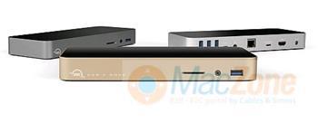 OWC USB-C Dock USB 3.1 dokovací stanice pro Apple MacBook 12 stříbrná OWCTCDOCK11PSL