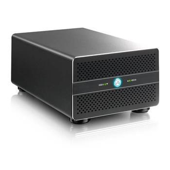 "Akitio Thunder2 Duo Pro externí RAID box na 2 x 2,5""/ 3,5"" SATA-III disky 2x Thunderbolt 2 USB 3.0 HDMI výstup Taurus"