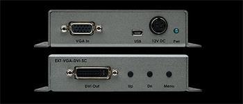 Gefen převodník VGA na DVI a Scaler EXT-VGA-DVI-SC