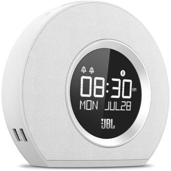 JBL Horizon bezdrátové reproduktory a radiobudík pro Apple iPad , iPhone, iPod bílé