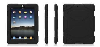 Griffin Survivor - extrémně odolný pevný obal pro Apple iPad 2/3 /4 černý military tested
