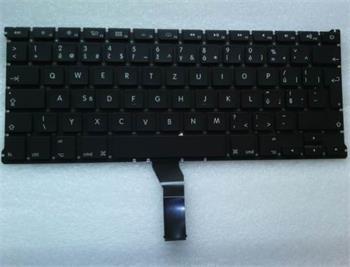 """Klávesnice pro Apple MacBook Air 13"""" A1369 A1466, CZ rozložení kláves, zahnutý enter"""