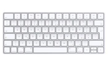 Apple Magic Keyboard bezdrátová bluetooth klávesnice - česká MLA22CZ