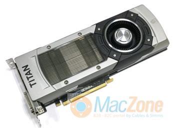 NVIDIA TITAN 6GB (GTX-980Ti) Mac 6GB DDR5 EFI64 grafická karta pro Apple Mac Pro 2009 a novější , podpora 4K / 5K