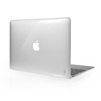 """Aiino Custodia - pevný obal pro Apple MacBook 12"""" průhledné lesklé"""