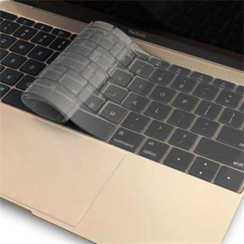 """Aiino Keyboard film layout - ochrana klávesnice Apple MacBook 12"""" transparentní"""
