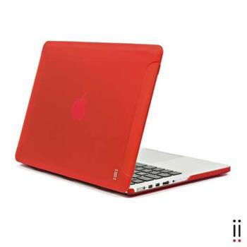 "Aiino Custodia - pevný obal pro Apple MacBook Retina 13"" ( late 2012-2016) červený"