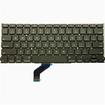 """Klávesnice pro Apple MacBook Pro Retina 13"""" A1425, US rozložení kláves, rovný enter"""
