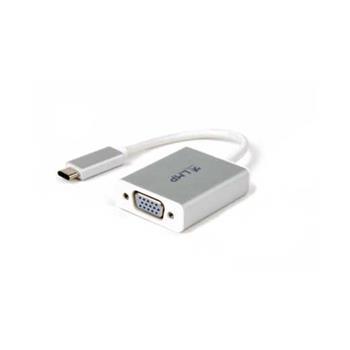 LMP USB-C 3.1 typ C na VGA ( M/F) adaptér pro VGA monitor nebo projektor pro Apple MacBook 12