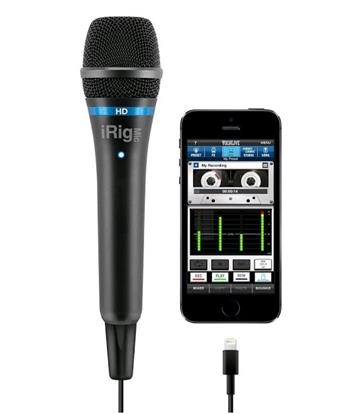 IKM iRig MIC HD externí mikrofon pro Apple iPad , iPhone a iPod
