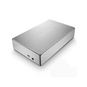 """4TB LaCie Porsche Design Desktop drive 3,5"""" - externí disk USB-C USB 3.0 stříbrný STFE4000200"""