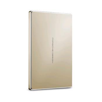 2TB LaCie Porsche Design Mobile drive - externí disk USB-C USB 3.0 zlatý STFD2000403