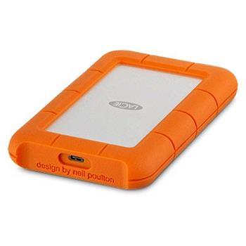2TB Lacie Rugged USB-C - přenosný odolný disk HDD STFR2000800