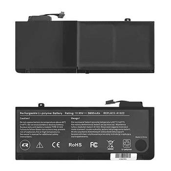 Qoltec baterie pro Apple MacBook Pro Unibody 13.3 2009-2011 5800mAh A1322