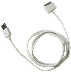 iPower iPod Dock Connector to USB 2.0 - synchonizační a nabíjecí USB kabel pro iPod bílý - TC-IUC-WHT