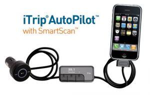 Griffin Techology iTrip AutoPilot SMARTSCAN FM vysílač s RDS ovladač a nabíječka pro iPod - GT-4046-TRPAUTOC