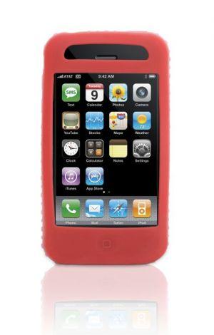 Griffin Technology Flex Grip silikonový obal pro Apple iPhone 3G /3GS červený