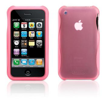 Griffin Technology Wave Case 2 pevné pouzdro Apple iPhone 3G / 3GS růžové