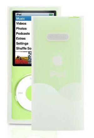 Griffin Technology Wave Case pevné pouzdro iPod Nano 4 generace průhledné bílé - GT-6287-NWAVW