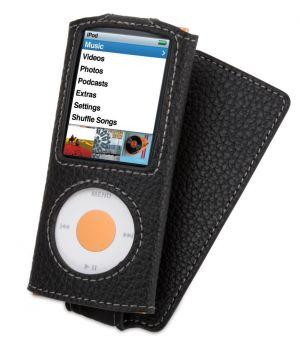 Griffin Technology ELAN CONVERTIBLE kožené pouzdro pro Apple iPod Nano 4 a 5 generace - GT-6285-NELNCNB