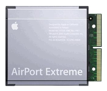 Apple Airport Extreme card M8881Z/A originální Wi-FI karta ( refurbrished )