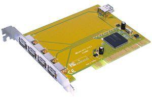 Aaxeon PCI USB 2.0 karta 4x USB 2.0 ext 1x Apple Power Mac G4/ G5 PCI