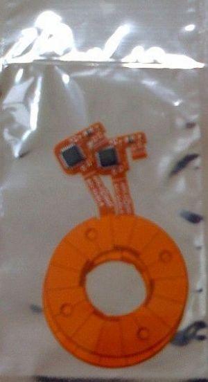 Apple iPod 6G/7G Classic clickwheel /w electronics elektonika klikacího kolečka