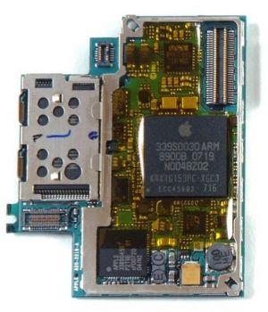 Apple iPhone Logic Board 8GB pro iPhone servisní díl - APL-IPHSP-L8GB
