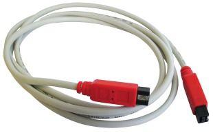 Unibrain FireWire 800 kabel 9pin na 6pin ( FireWire 800 - FireWire 400 ) délka 4,5M , ultimátní stínění, garantovaná funkčnost