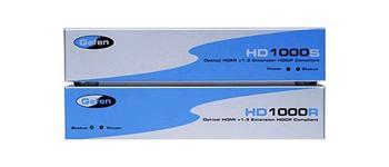 Gefen HD1000 HDMI 1.3 extender přes LC optické kabely a CAT-5 až na 100 metrů EXT-HD-1000