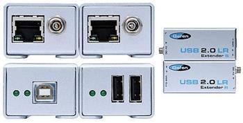 Gefen USB 2.0 Extender LR prodloužení USB 2.0 po CAT-5 až na 100m USB2.0-LR