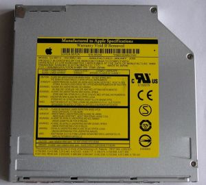 Panasonic 8x Dual Layer Slot Loading SuperDrive - MacBook /MacBook Pro 2009 - PAN-SD_867S