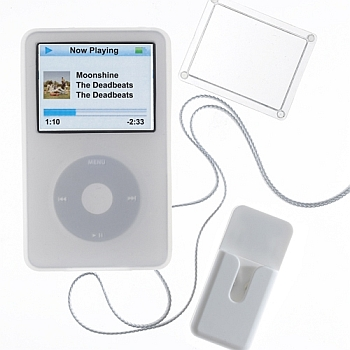 PodGear Jump Suit Plus pouzdro pro iPod 5G / 30GB bílé - PG-JSP-5G30-WHT