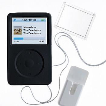 PodGear Jump Suit Plus pouzdro pro iPod 5G / 60GB černé - PG-JSP-5G60-BLK