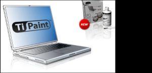 TiPaint Professional - opravný lak na PowerBook G4 Titanium - TiPaint-PRO