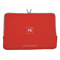 "Tucano Second Skin neoprénový obal pro Apple MacBook Pro 17"" červený"