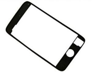 Apple iPod Touch 2/3 generace Midframe plastic bezel plastový rámeček pod touch servisní díl