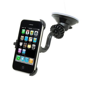 iPower Car Kit držák CL nabíječka a AUX audiokabel pro iPhone 3G / 3GS do auta