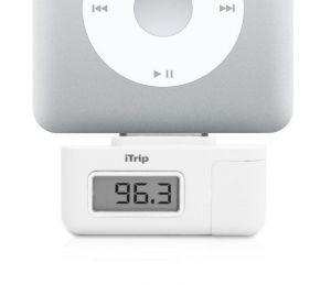 Griffin Techology iTrip SE - 30pin dock FM vysílač pro iPod bílý