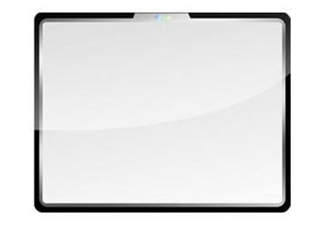 Apple iPod Nano 3G plastic cover display - plastový kryt displeje