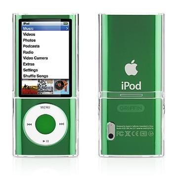 Griffin iCLEAR pro Apple iPod Nano 5 generace průhledné pouzdro