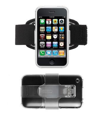 Sportovní pouzdro pro Apple iPhone 3G / 3GS , klip, pásek na ruku Griffin iClear Deluxe