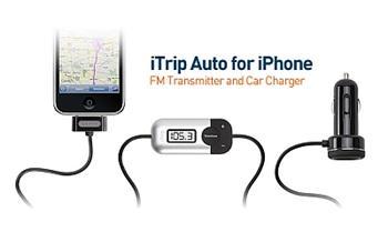 Griffin Techology iTrip Auto SMARTSCAN FM vysílač a nabíječka pro iPod / iPhone 3G /S